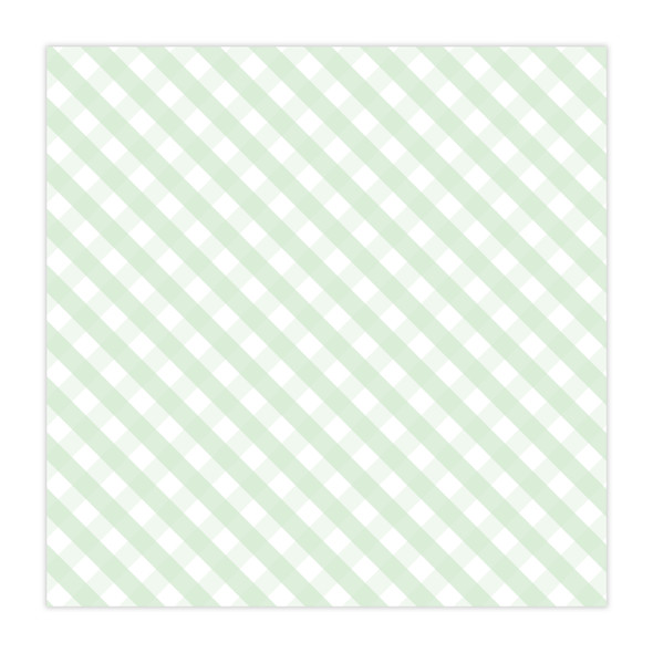 Paper | Darling | Green 12x12 (Single-Sided)