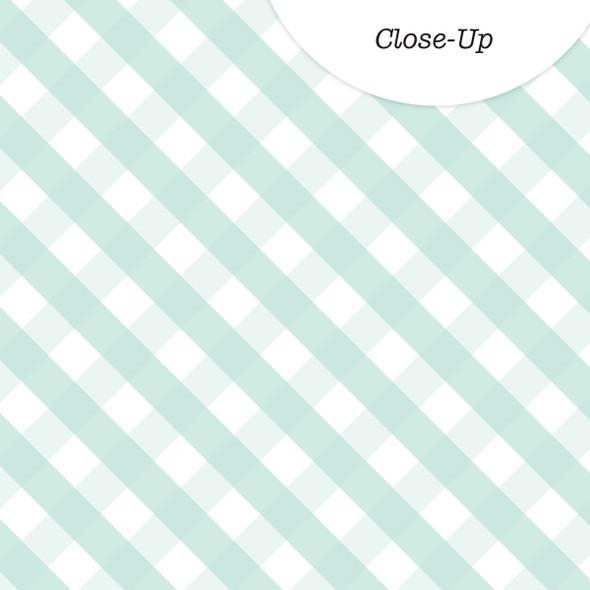 Paper | Darling | Mint 12x12 (Single-Sided)