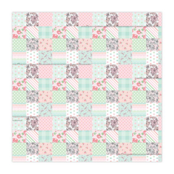 Paper | Patchwork 12x12 (Single-Sided)