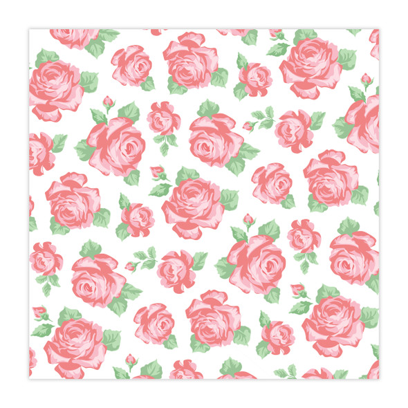 Paper | Rose Garden 12x12 (Single-Sided)