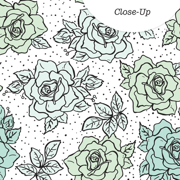 Paper | Rosebush | Mint 12x12 (Single-Sided)