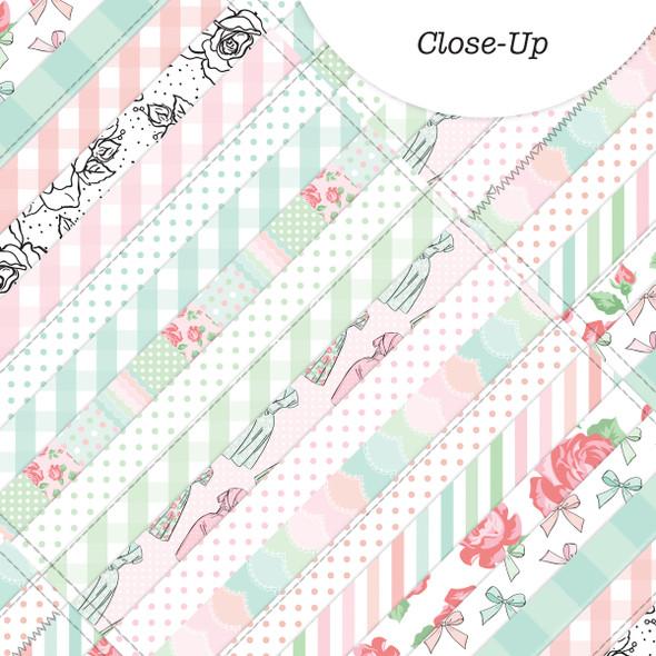 Paper | Grandma's Quilt 8x8