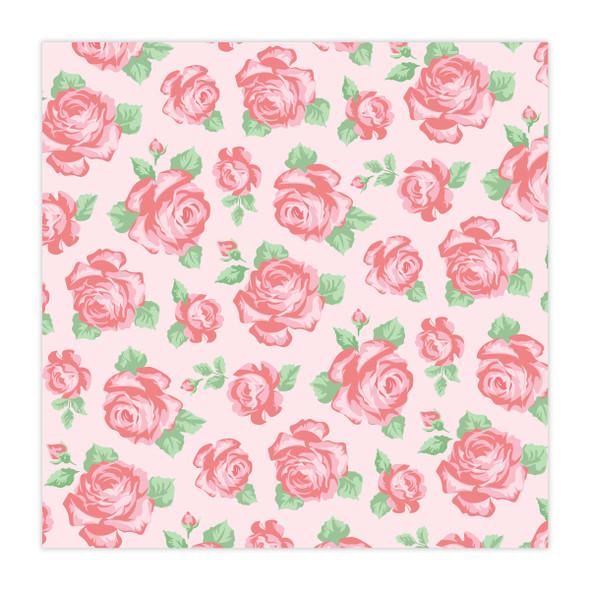 Paper | Rose Garden | Pink 8x8