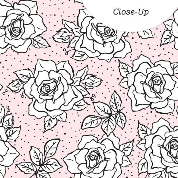 Paper | Rosebush | Pink 8x8