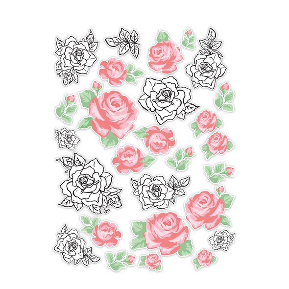 Die-cut | Rose Garden