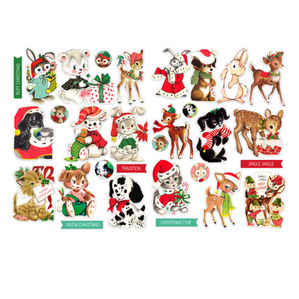Die-Cuts | Animal Christmas (pack)