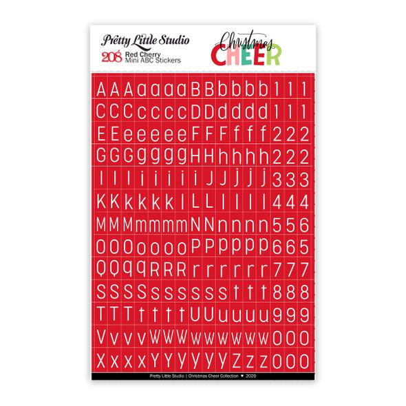 Stickers | Mini ABC | Red Cherry