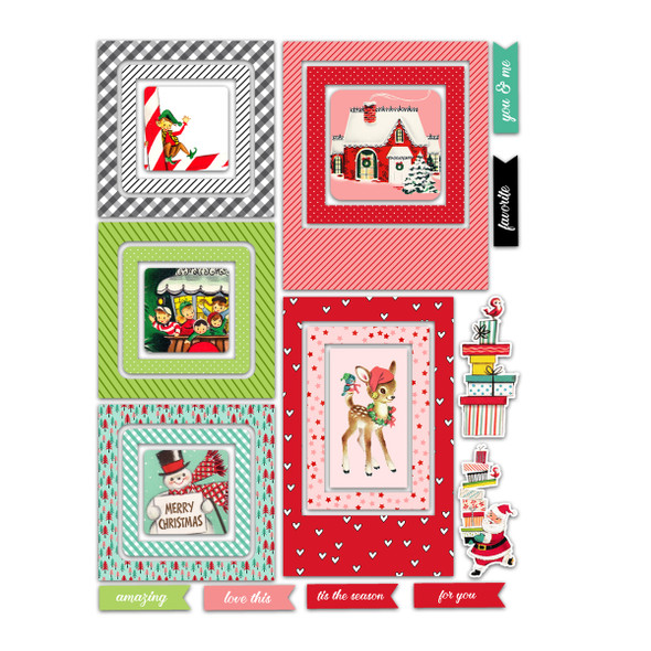 Die-Cuts | Merry & Bright Frames