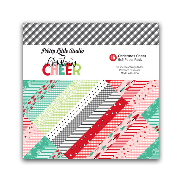 Paper Pack | Christmas Cheer (color) 6x6 (single-sided)