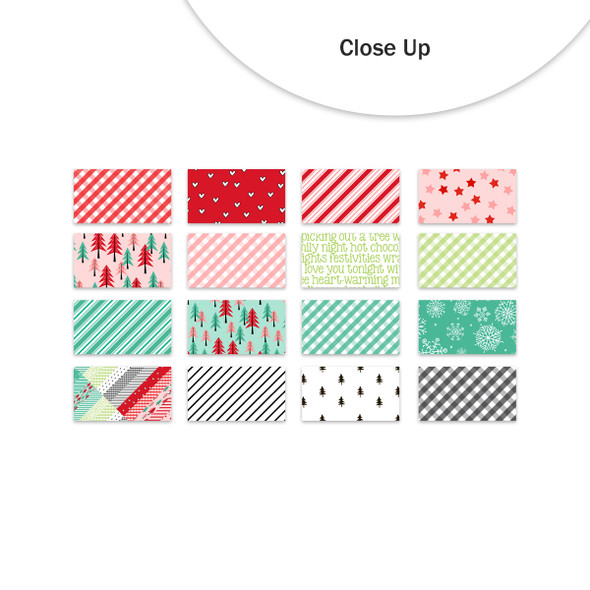Paper Pack | Christmas Cheer (Color) 4x6 (single-sided)