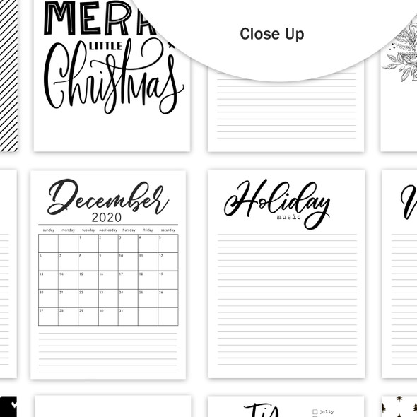 Journaling | Holiday Prompts 3x4