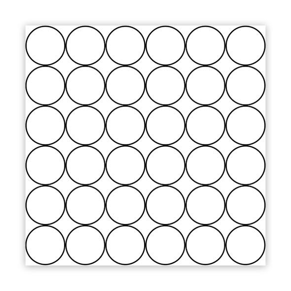 Paper | Ornament Balls 8x8