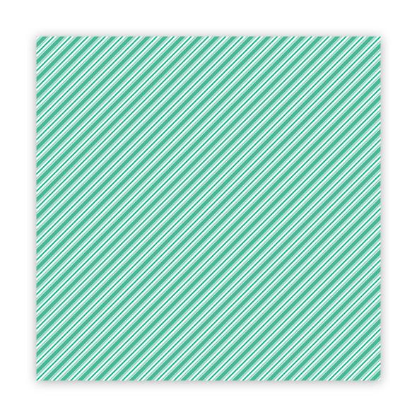 Paper | Stick Candy | Minty 8x8