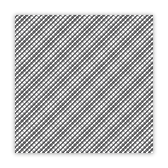Paper | the Merriest | Black 8x8