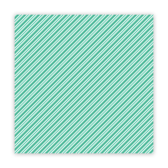 Clear | Stick Candy | Minty 8x8