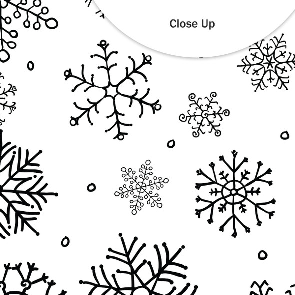 Vellum | It's Snowing 8x8