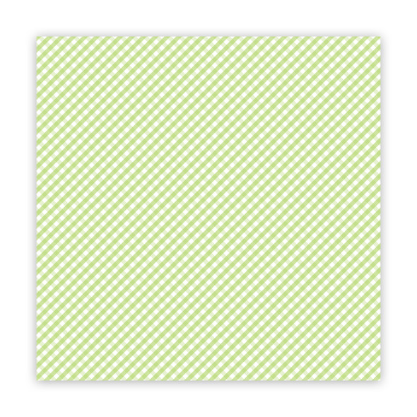 Vellum | the Merriest | Lime 8x8