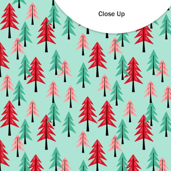 Vellum | Tree Farm | Minty 8x8