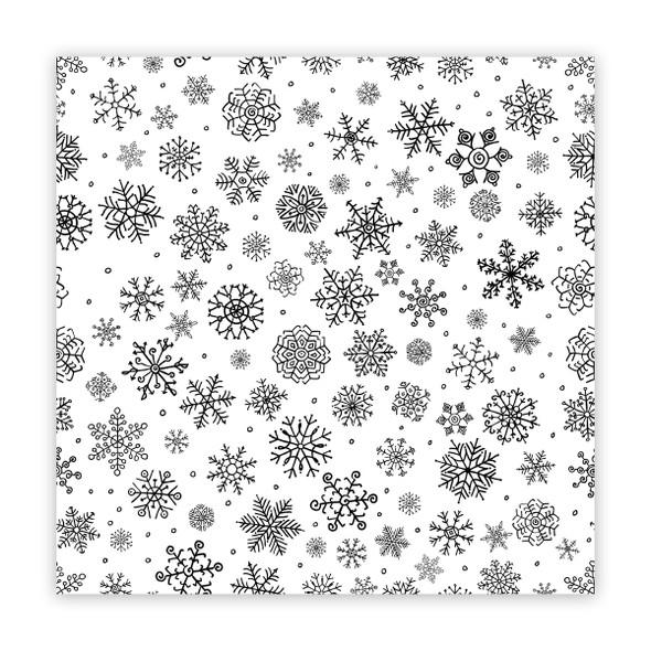 Paper   It's Snowing 12x12 (single-sided)