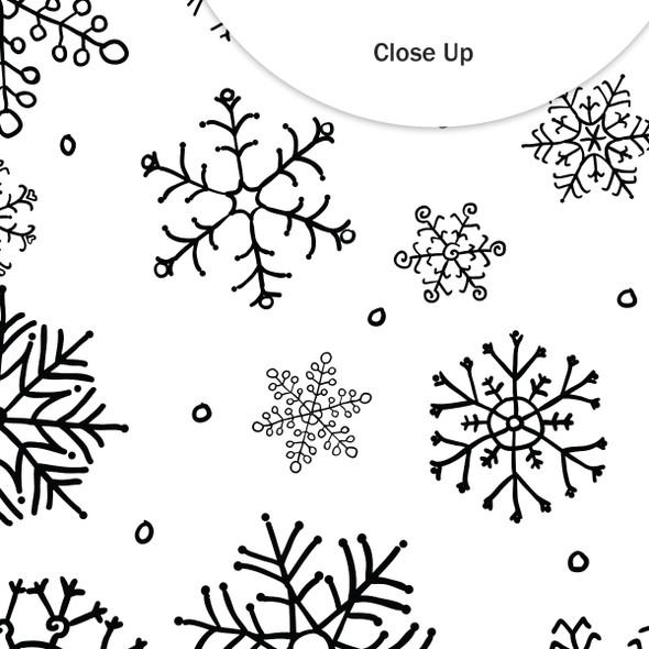 Paper | It's Snowing 12x12 (single-sided)