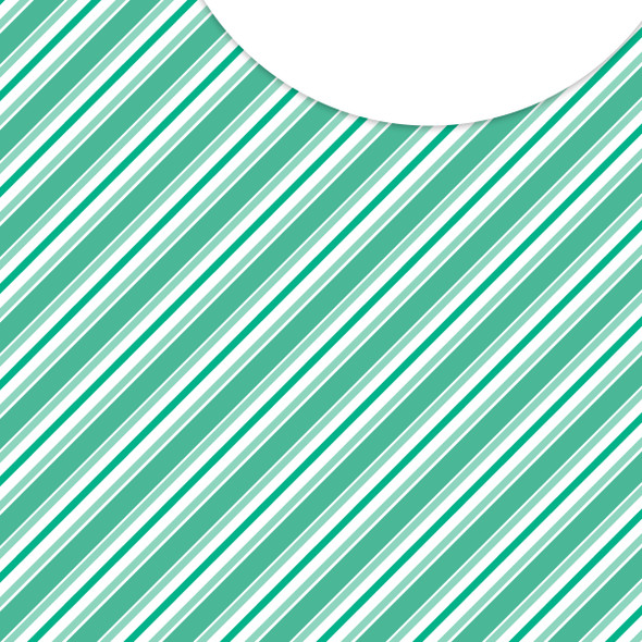 Paper | Stick Candy | Minty 12x12 (single-sided)