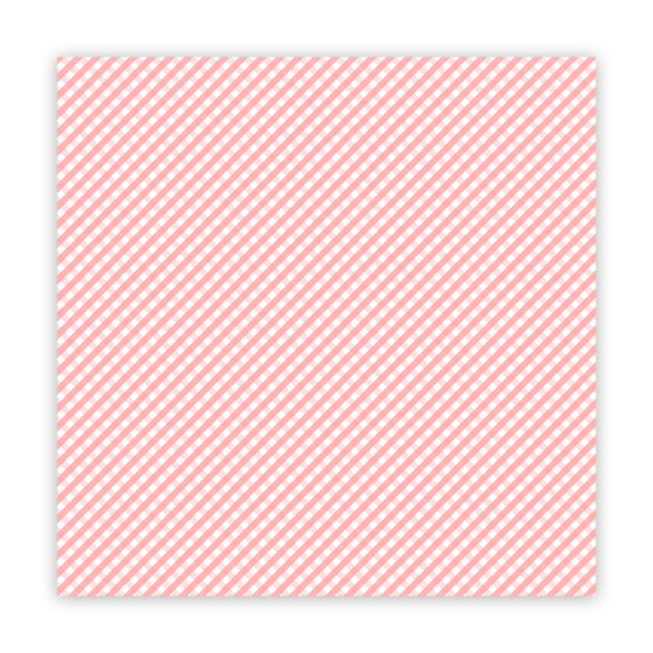 Paper | the Merriest | Pink 12x12 (single-sided)