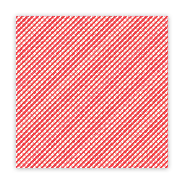 Paper | the Merriest | Red 12x12 (single-sided)