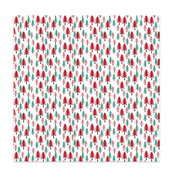 Paper | Tree Farm #2 | 12x12 (single-sided)