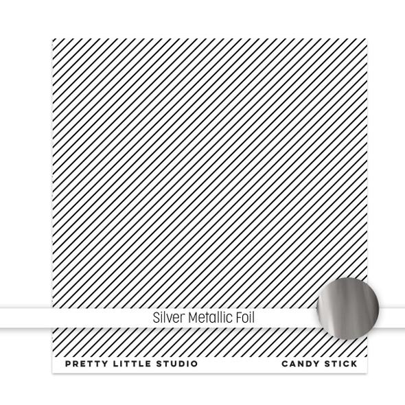 Metallic Clear | Candy Stick 8x8