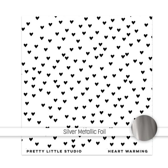 Metallic Clear | Heart Warming 8x8