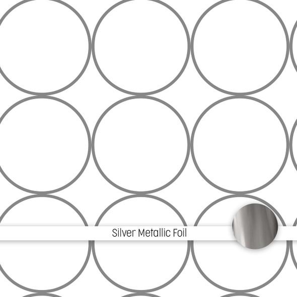 Metallic Clear | Ornament Balls 8x8