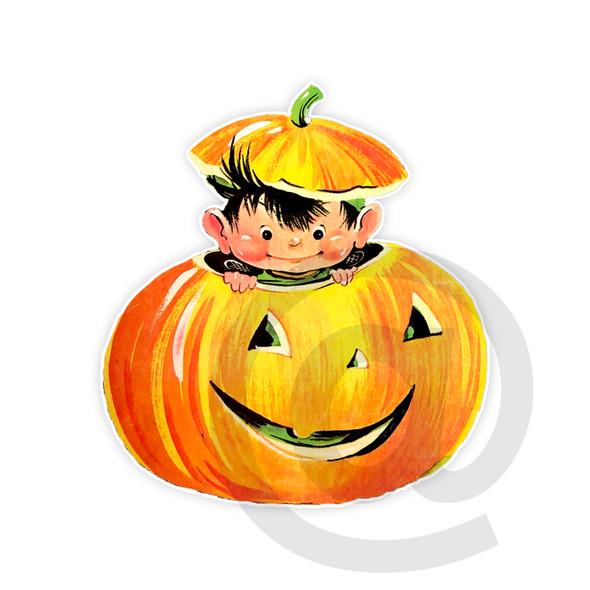 Vintage Die-Cut | Pumpkin Spice