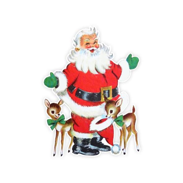 Vintage Die-Cut | Santa #33