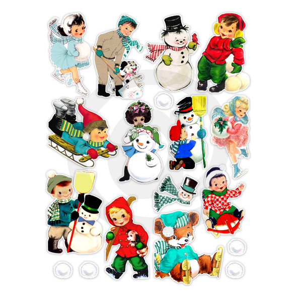 Die-cuts | Winter Fun (pack)