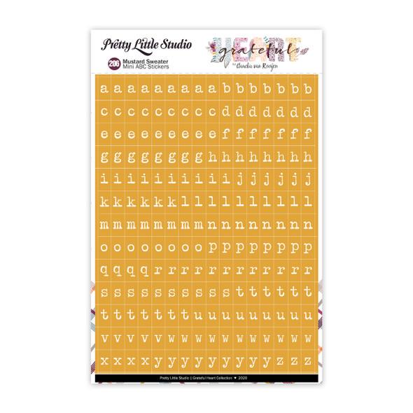 Stickers | Mini ABC | Pass the Mustard
