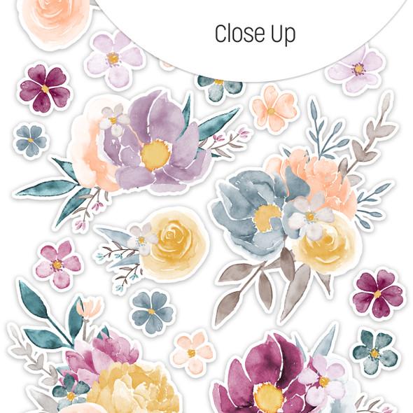 Stickers | Floral Centerpiece