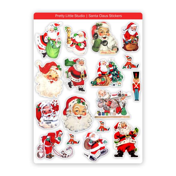 Stickers | Santa Claus (vintage)