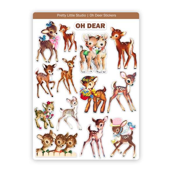 Stickers | Oh Deer (vintage)