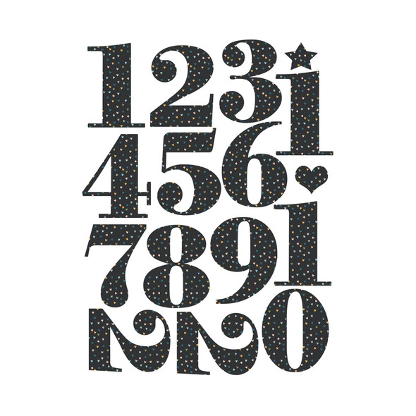 Die-Cut | Sprinkles Numbers