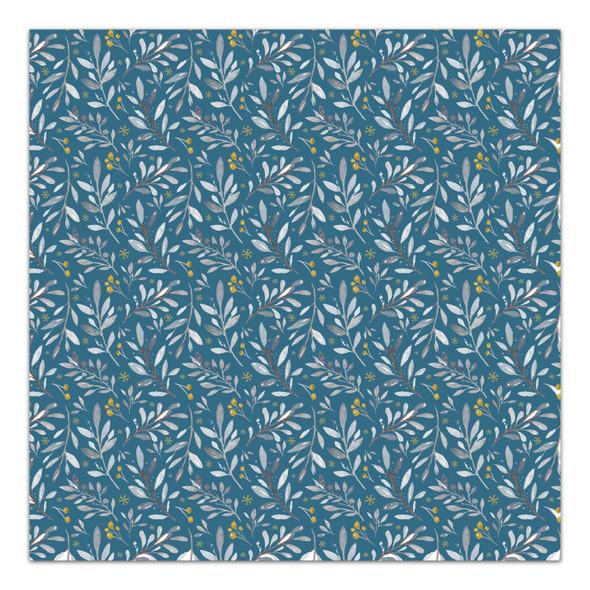 Paper | Frosty Morning | Blue 8x8