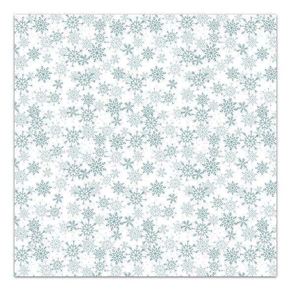 Clear | Snowflakes 8x8