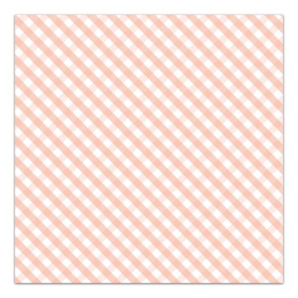 Vellum | A Button Nose | Peach 8x8