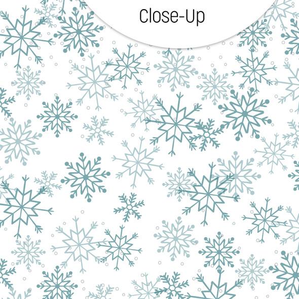 Vellum | Snowflakes 8x8