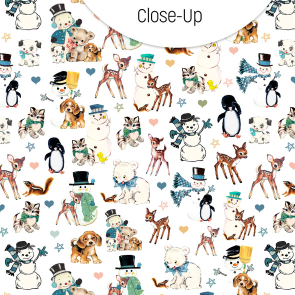 Paper | Snow Friends 12x12 (single-sided)