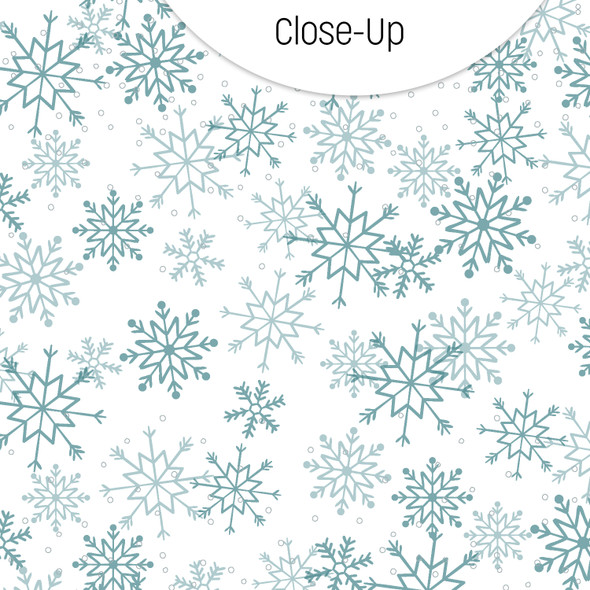 Paper | Snowflakes 12x12 (single-sided)
