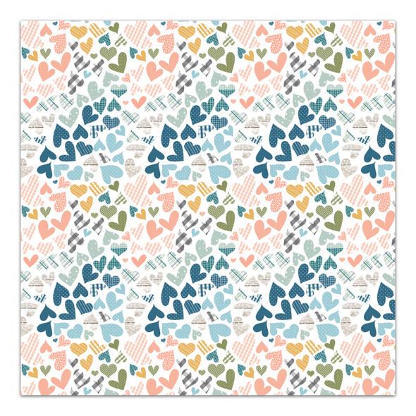 Paper   Warm Heart 12x12 (single-sided)