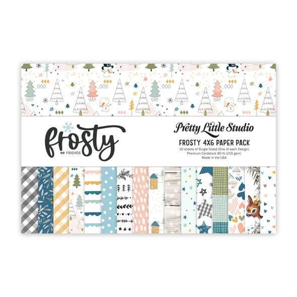 Paper Pack | Frosty 4x6 (single-sided)