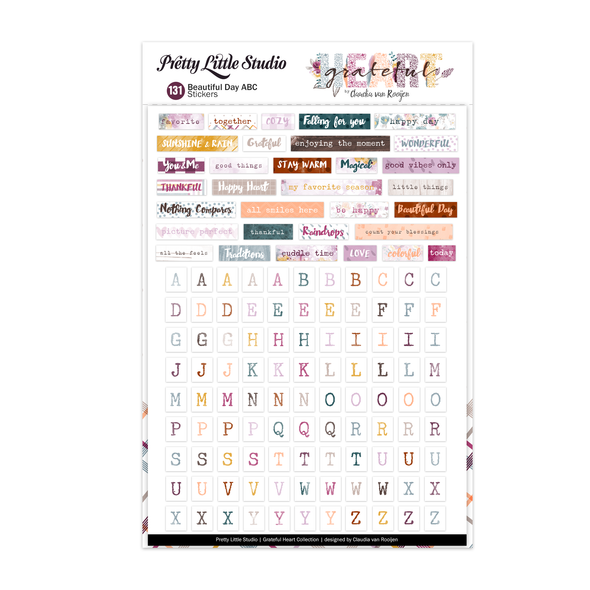 Stickers | Beautiful Day ABC | Color