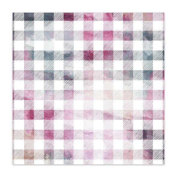 Paper | Gratitude | Watercolor 12x12 (single-sided)