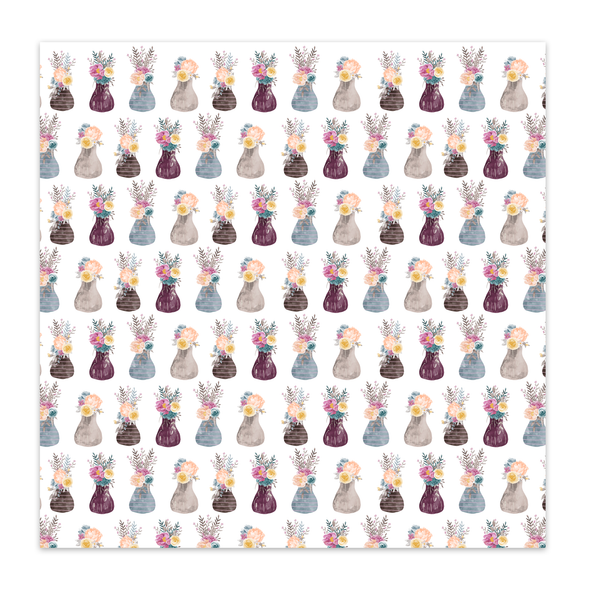 Paper | Happy Day 12x12 (single-sided)